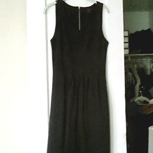 JCrew Navy Fit and Flare Scuba Dress 8T